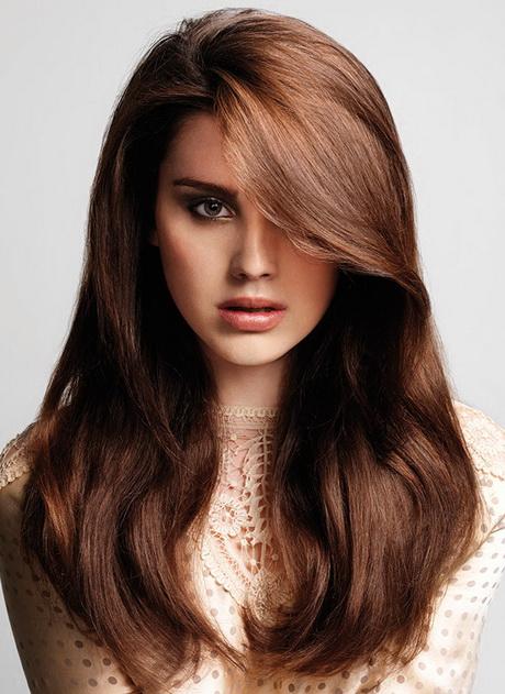 Bruin haarkleur