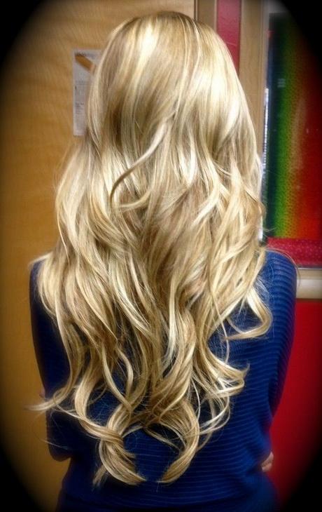 Blond Haar Lowlights