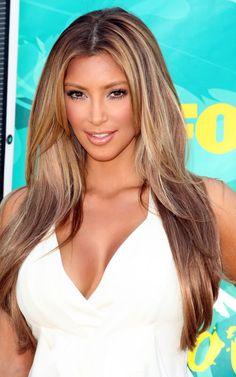 Bruin Haar Blonde Lokken