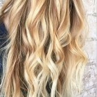 Highlights blond haar