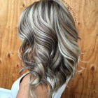 Blonde en bruine highlights