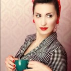 Rockabilly kapsel dames