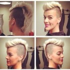 Faux hawk dames