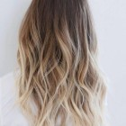Ombre bruin blond